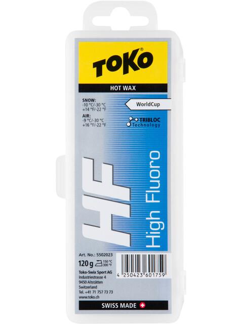 Toko HF Hot Wax - 120g amarillo/azul